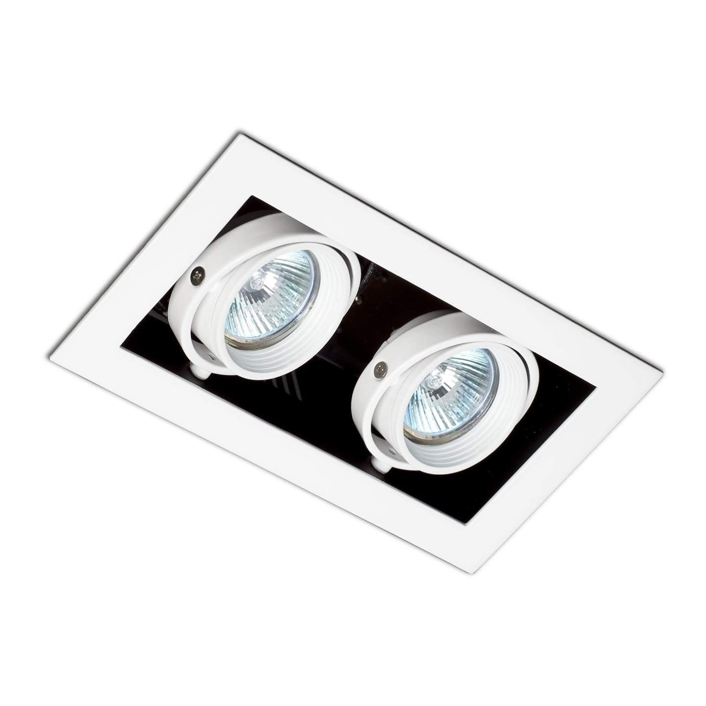 Falcon Recessed adjustable Grey 2xGU10 50W