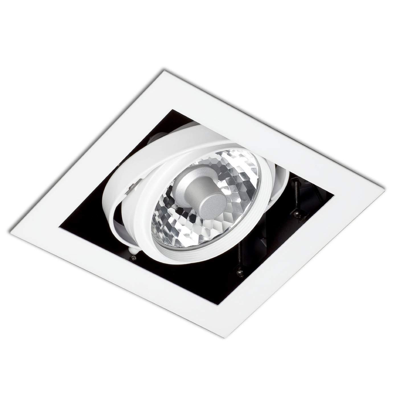 Morris Recessed Ceiling (body without PortaLámpara s) 1xelement white