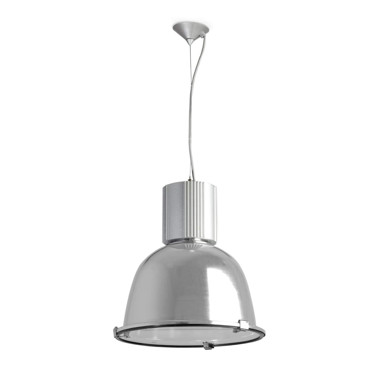 "Ã""leo Pendant Lamp / Campana 1xE27 100w Grey"