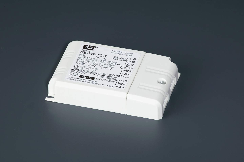 Reactancia electrónica para flurescentes 1x26/32/42w (Marca ELT)
