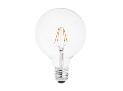 Bombilla Globo filamento led E27 4w 2700k