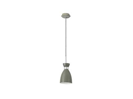 Retro Pendant Lamp Green 1xE14 20W