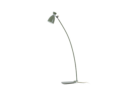 Retro lámpara of Floor Lamp Green e14 40w