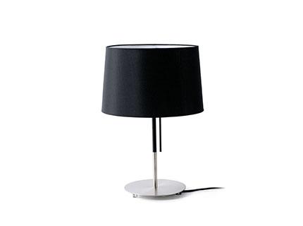 Volta Table Lamp Black E27 20w 2700k