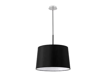 Volta Pendant Lamp Black E27 20w 2700k