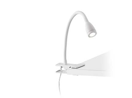 Loke Wall Lamp Pinza white led 3w 3000k