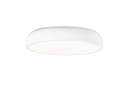 Cocotte-l ceiling lamp white led 40w 2700k