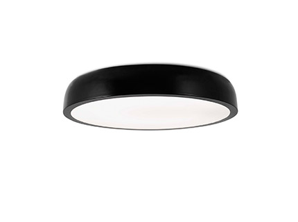 Cocotte-l Plafón negro led 40w 2700k