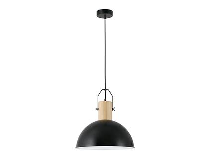 Margot Lámpara Colgante negro E27 40w