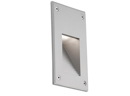 Filtro Empotrable gris LED 2w 2700k 120°