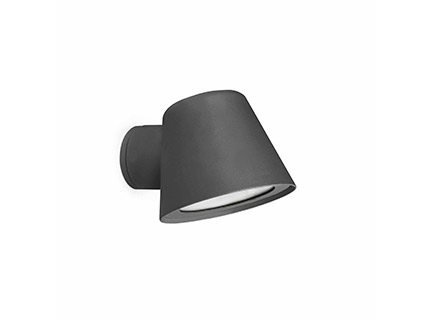 Gina Wall Lamp 1 x GU10 35W Grey Dark