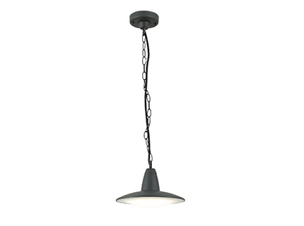 Ellen Pendant Lamp LED 8W Grey Dark