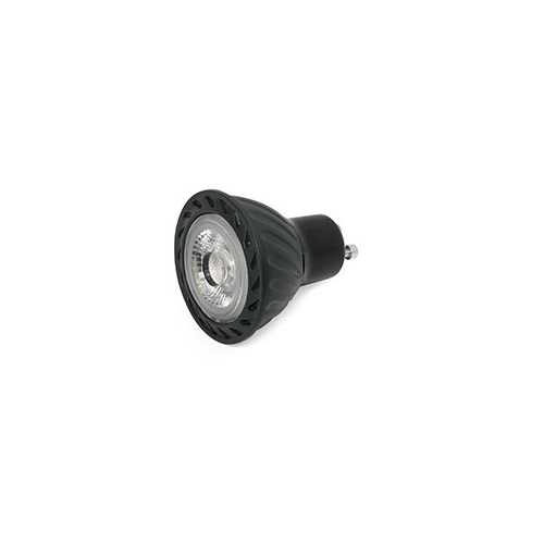 Bombilla GU10 LED 8W 2700K 60á° black
