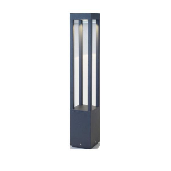 Agra Beacon Outdoor 1xled 5w h 65cms Grey oscuro