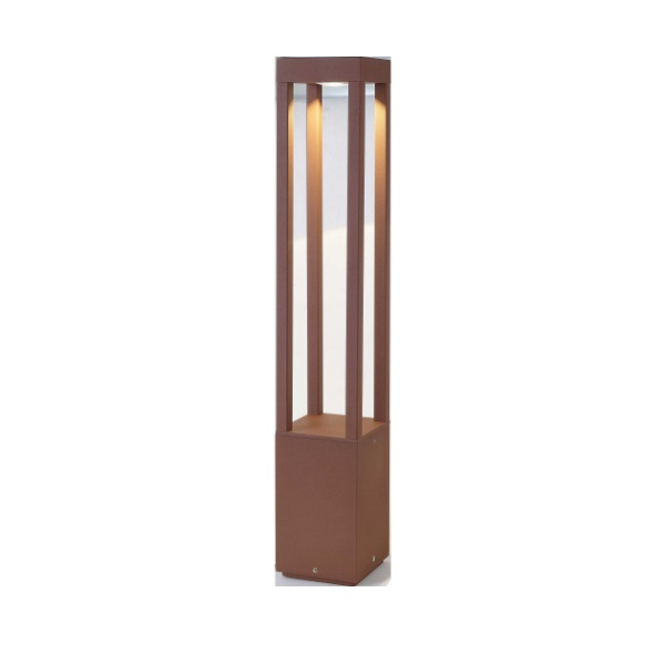 Agra Beacon Outdoor 1xled 5w h 65cms Brown