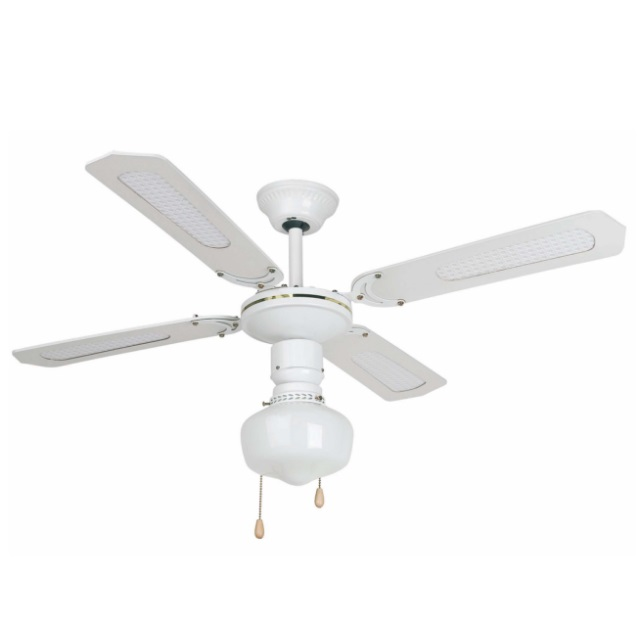 Aruba Fan with light 4 blades ø106cm white