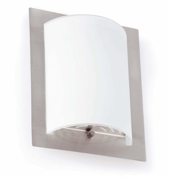 Diula 1 Wall Lamp 1xE27 max 60W 20x25cm - Nickel mate