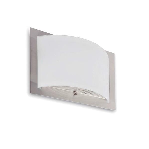 Diula 2 Wall Lamp 1xE27 max 60W 32x25cm - Nickel mate