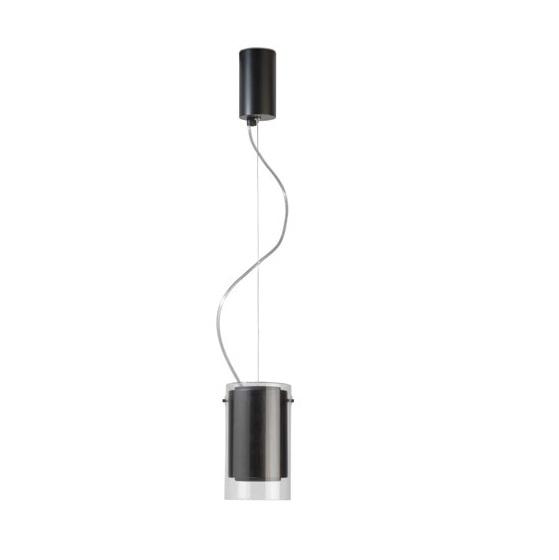 Etna Lámpara Colgante 17cm GU10 LED 7W Madera negra