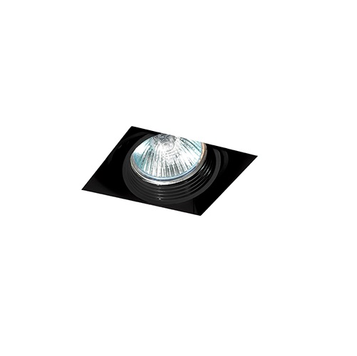 Falcon Recessed adjustable Black without Framework 1xGU10 50W