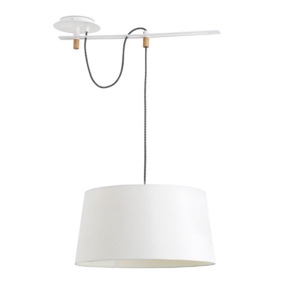 Fusta Pendant Lamp white E27 20W