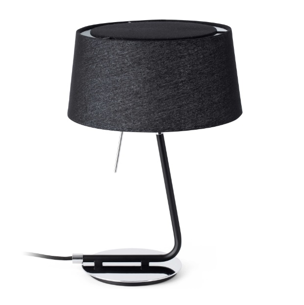 hotel Table Lamp 1L E27 60w - Black