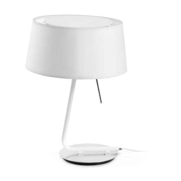 hotel Table Lamp 1L E27 60w - white