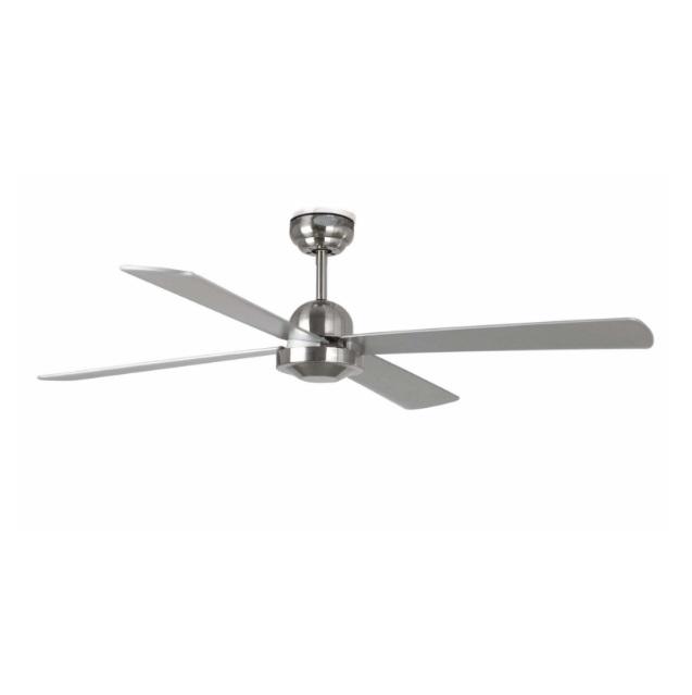 Ibiza Fan 4 blades ø132cm Níquel Mate