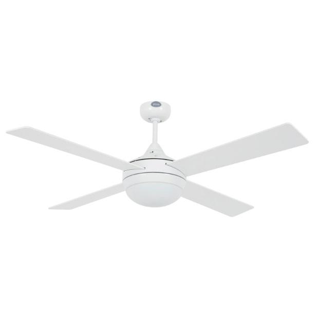 Icaria Fan ø132cm 4 blades 2xE27 20W White