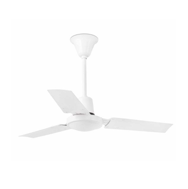 Mini Indus Fan Ceiling 3 blades ø92cm white