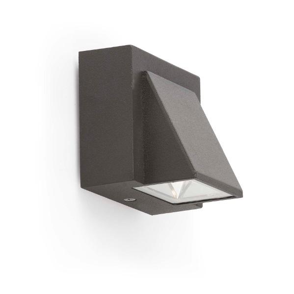 Kamal 1 Wall Lamp Outdoor LED 1W 3000K - Grey Oscuro