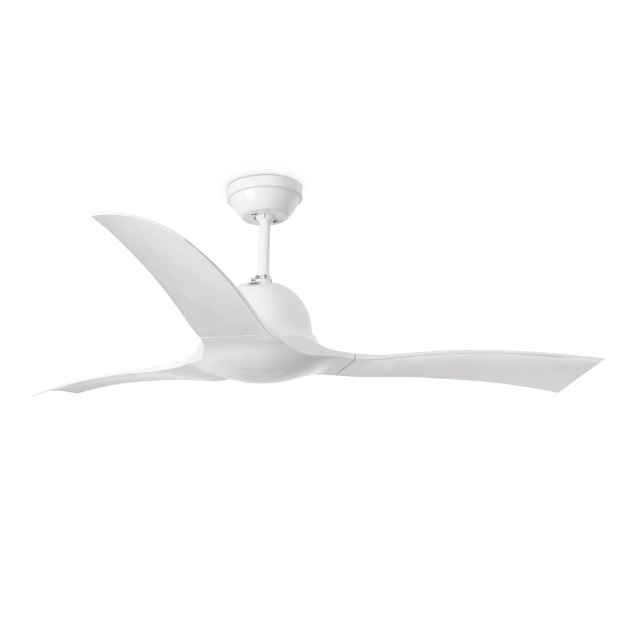Lakki Fan without light ø132cm 3 blades ABS white