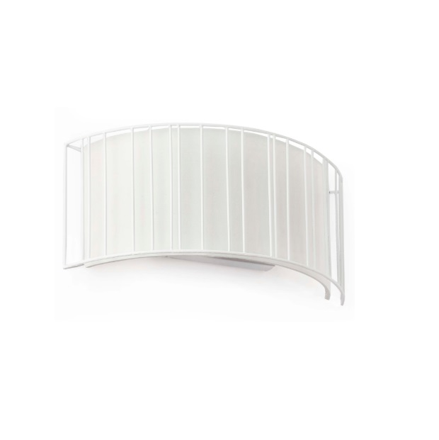 Linda Wall Lamp 2L E27 - white