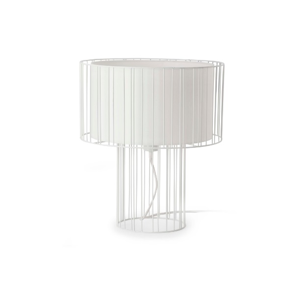 Linda Table Lamp 1L E27 - white