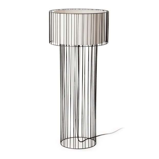 Linda Floor Lamp 1L E27 - Black