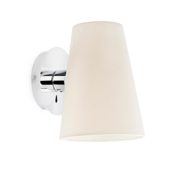 Lupe Wall Lamp Chrome 1XE27 20W