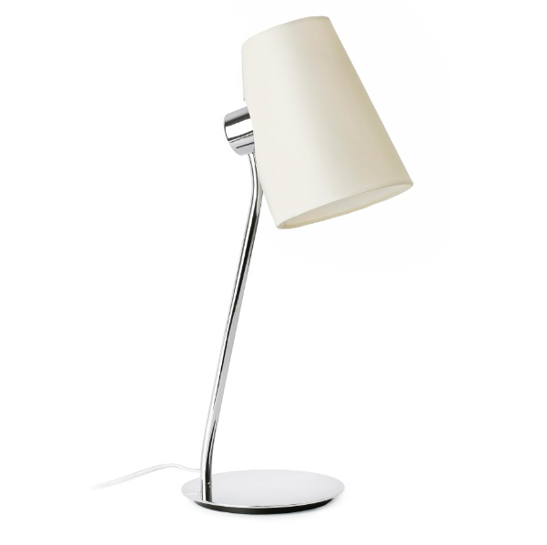 Lupe Table Lamp Chrome 1XE27 20W