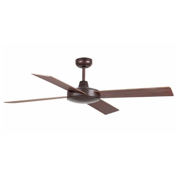 Mallorca Fan Ceiling 4 blades ø132cm Brown Oxide
