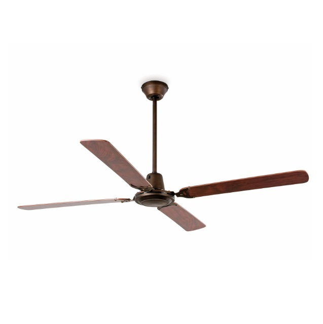 Malvinas Fan Ceiling 4 blades ø140cm Brown