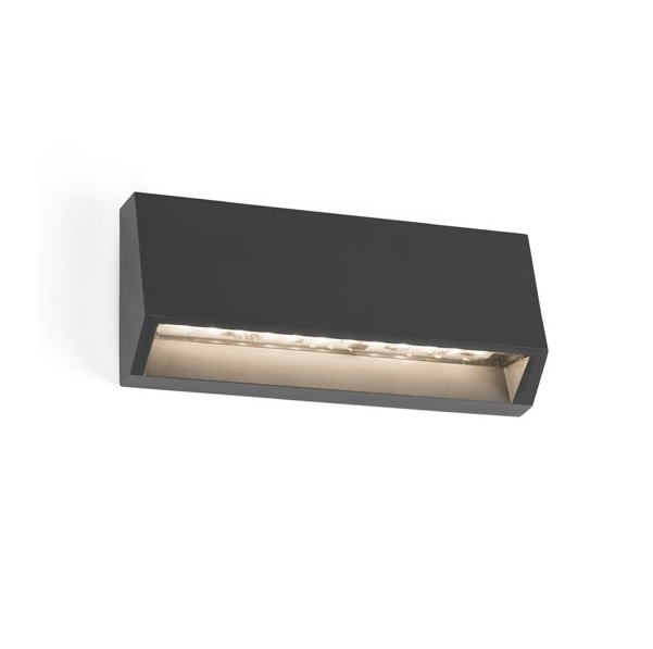 Must 2 Wall Lamp Outdoor Grey Dark LED 4W 3000K