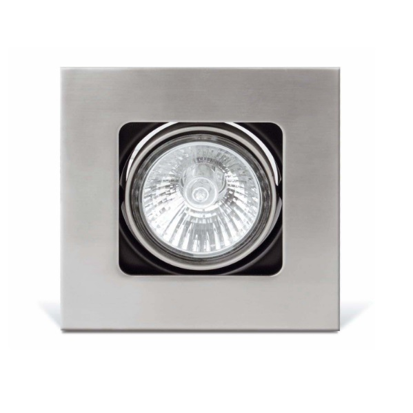 Neutrón Lamp Recessed 1L GU10 50W - Nickel mate