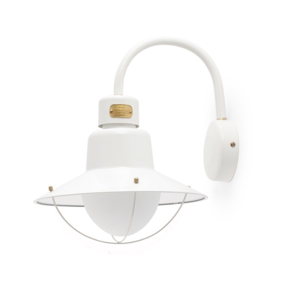 Newport Wall Lamp Outdoor 34,6cm E27 15w - White
