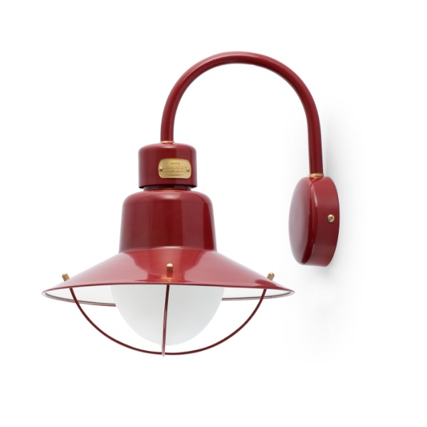 Newport Wall Lamp Outdoor 34,6cm E27 15w - Red