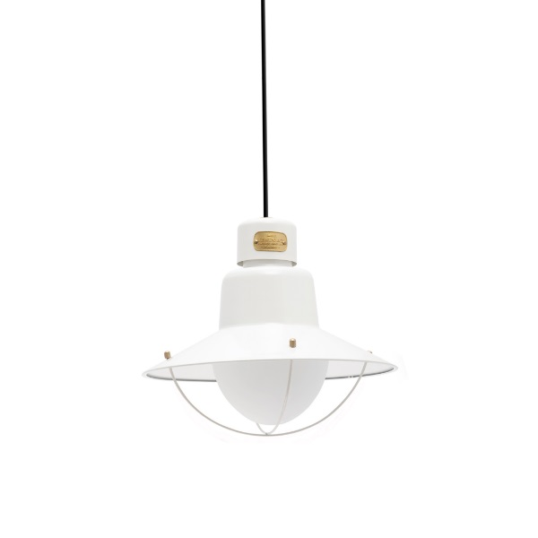 Newport Pendant Lamp Outdoor 112cm E27 15w - white