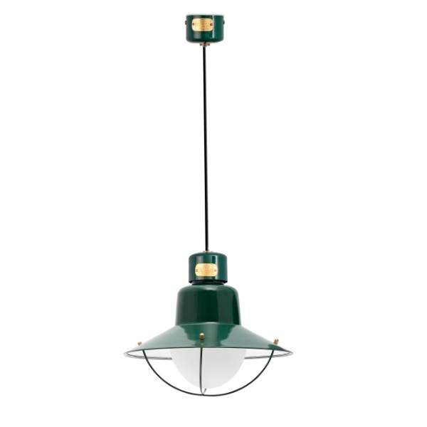 Newport Pendant Lamp Outdoor 112cm E27 15w - Green