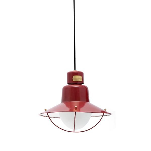 Newport Pendant Lamp Outdoor 112cm E27 15w - Red
