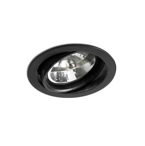 Optic Recessed Black QR-111 100w