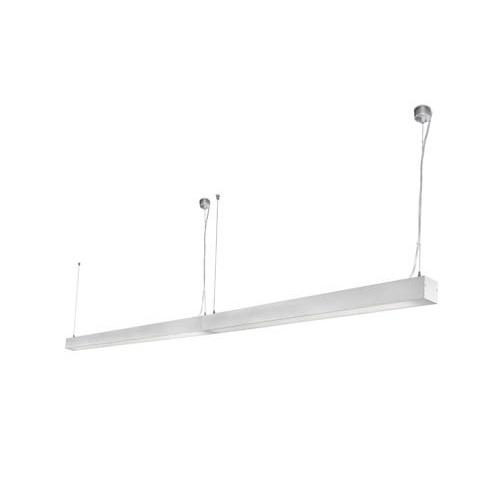 Ore Lámpara Colgante multifunción continuo LED 120cm 35W 4000K Gris
