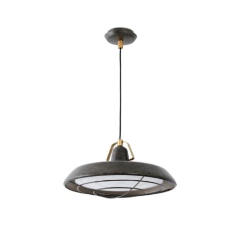 Plec Lámpara Colgante marrón óxido LED 15W 2700K