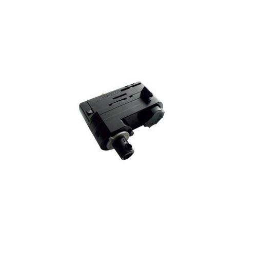 Accesorio Conector Carril para suspensión blanco